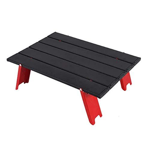 mementoy Mini Klapp Campingtisch Kleiner Faltbarer Tisch Tragbarer Niedriger Tisch Aus Aluminiumlegierung Für Camping, Picknick, Outdoor, Reisen, Strand