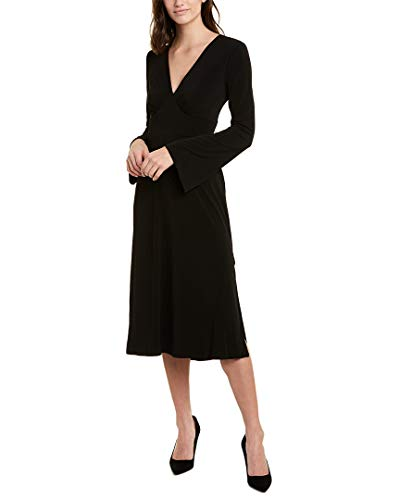 BCBGeneration Bell Sleeve Day Dress Black XS (US 2)