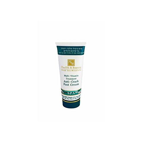 Mer Morte cosmétique - Health and Beauty Dead Sea Minerals - Crème multivitaminée rafraîchissante pour les pieds - 100 ml