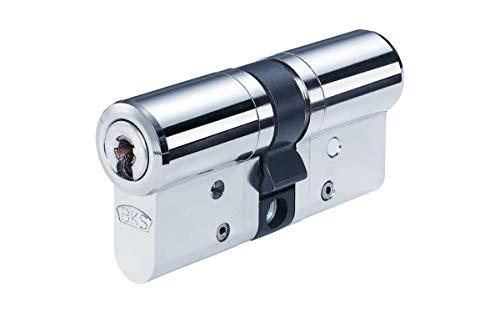 BKS Janus 46 Doppelzylinder mit Not- und Gefahrenfunktion 31/50 inkl. 5 Schlüssel - Hochsicherheits-Türzylinder - Sicherungskarte - Wendeschlüssel - inkl. Bohrschutz (Einzelschließung)