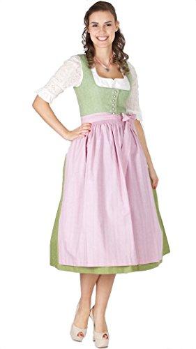 15375 Wenger Dirndl Isolde 80er länge grün Size 46