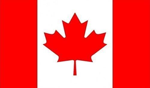 45,7x 30,5cm (45x 30cm) Kanada Canadian Ärmeln Boot Höflichkeit 100% Polyester Material Hand Waving Flag Banner Ideal für Pub Club Schule Festival Business Party Dekoration