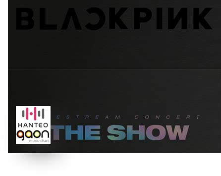 Music&New Blackpink -2021 [The Show] DVD [Pre Order] Disc+Photobook+Folded Poster+Others with Tracking, Extra Decorative Stickers, Photocards