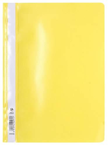 Exacompta 449204B - Subcarpeta PVC, A4, color amarillo 🔥