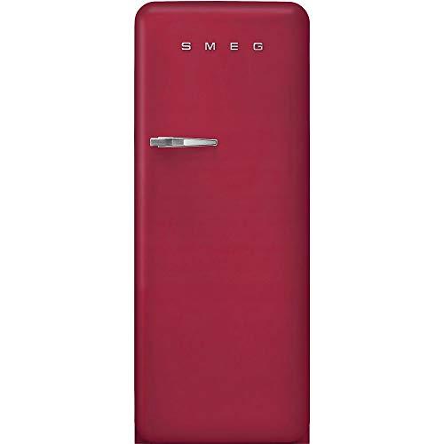 Smeg FAB28RDRB3 - Frigorifero Anni '50, Rosso Rubino, 270 litri, 60 cm, Cerniere a Destra, A+++