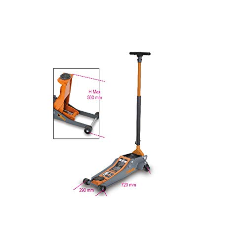 Deuba/® Cric idraulico solleva fino a 2T alta qualit/à sollevatore include valiglietta Martinetto