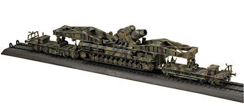 Hasegawa HAS MT57 - 60cm Mörser Karl 040 Production Type with Railway Carrier