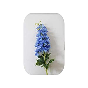 Mo Duo 80CM Latex Delphinium Hyacinth Artificial Flowers Continental PU Flowers Wedding Simulation Flower Home Decoration