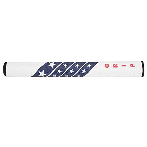 Pwshymi Golf Grip Putter Grip Anti-Skid PU Coperto Confortevole Golf Club Putter Grip Sostituzione(Bianca)