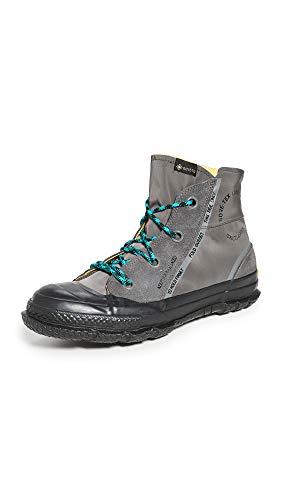 Converse Men's Chuck Taylor MC18 Gore-Tex Sneaker Boots, Carbon Grey/Turbo Green/Black, 7 Medium US