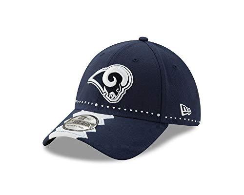New Era Los Angeles Rams 39thirty Stretch Cap Nfl19 Draft Navy - M - L