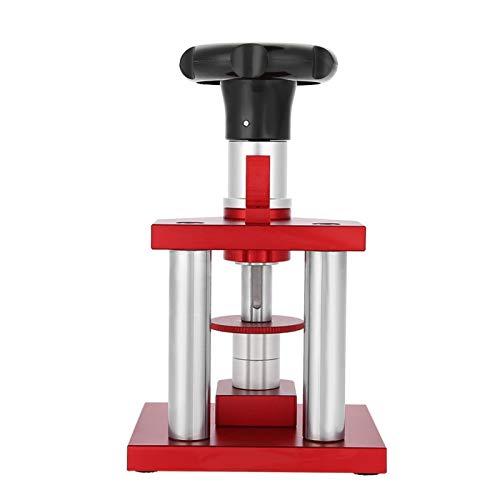 Kits de herramientas para cubiertas de prensa de reloj, tipo de tornillo, bisel de cristal preciso, herramienta de prensa para cubierta de caja trasera de reloj, con reparación de prensado de 20 matri