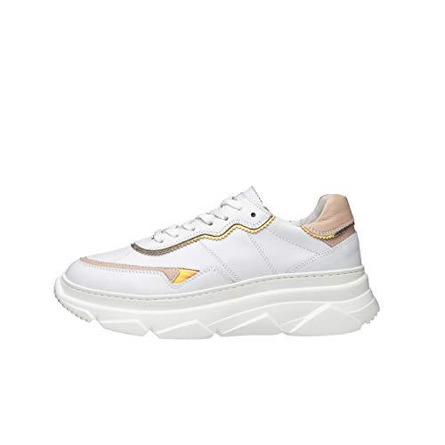 Nero Giardini E010600D Sneakers Donna in Pelle - Bianco 38 EU