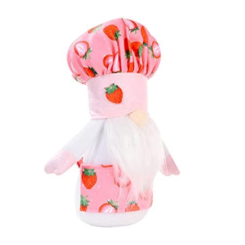 VALICLUD Juguete de Peluche Hecho a Mano Juguetes de Peluche Juguetes de Peluche Juguetes de Pascua Regalos de Pascua con Sombrero de Fresa para Niños Mujeres Hombres Decoraciones de