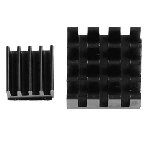 F Fityle Aluminium Kühlkörper Hitze Diffuse Kühlfinne Kühler Prozessor für Raspberry Pi