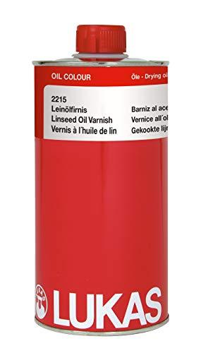 LUKAS Malmittel für die Ölmalerei - Leinölfirnis in 1 l