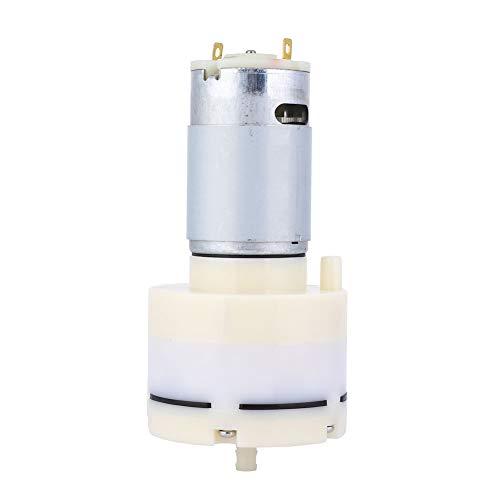 Bomba de aire de 15 l/min, permeabilidad aplicable DC 12 V, permeabilidad al aire, bomba de aire para acuario, plástico, hecho para pequeños electrodomésticos