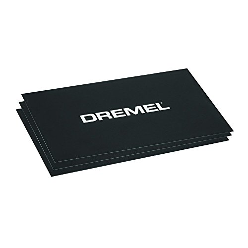 Dremel BT40-01 Build Sheets for 3D40 3D Printer, Black, One Size