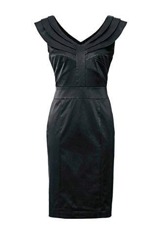 Ashley Brooke Damen Designer-Cocktailkleid, schwarz, Größe: 38