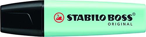 STABILO Textmarker BOSS ORIGINAL Pastel, pastelltürkis