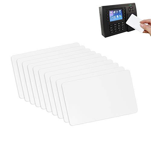 PERFETSELL 20 Pcs Tarjetas nfc ntag215 amiibo Tarjeta de PVC Blanco Compatibles con Tagmo, Amiibo, Switch, Wii U, 3DS, Teléfonos Inteligentes y Dispositivos Habilitados NFC, Memoria de 504 Bytes