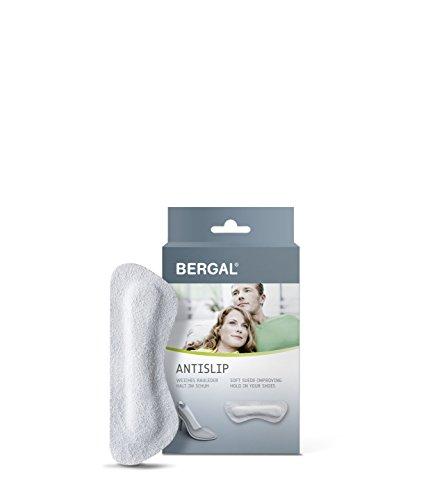 BERGAL Antislip - Fersenpolster für mehr Halt im Schuh, 2er Pack