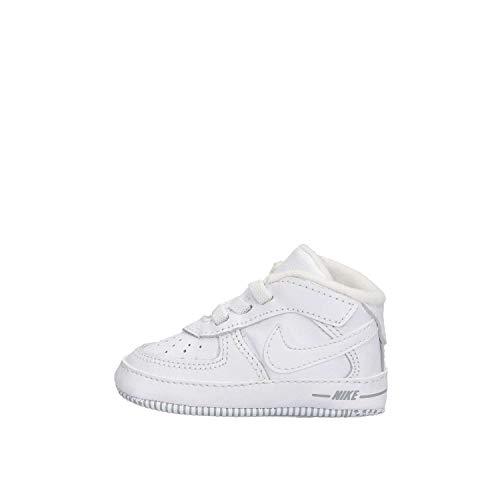 Nike Force 1 (CB), Pantofole Unisex-Bimbi, Bianco (White/White/White 100), 19.5 EU