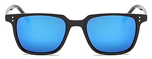 Gafas De Sol Nuevas Gafas De Sol De Moda para Hombre, Gafas De Sol Cuadradas De Diseñador De Marca para Hombre, Gafas De Sol De Conducción Vintage Retro para Hombre, Gafas Uv400, Negro