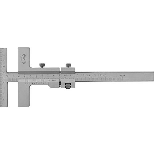 STEINLE 5406 Anreiss Messschieber 160 mm mit Messbrücke