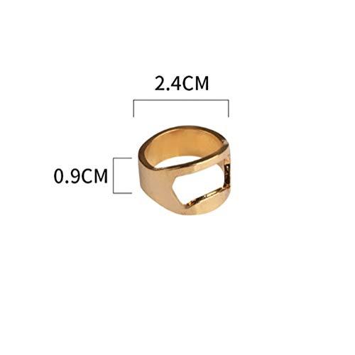Macizo 9ct Oro Amarillo 3mm Anillos De Salto Abierta peso mediano para la fabricación de joyas