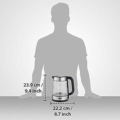 ANSIO-Glas-Wasserkocher