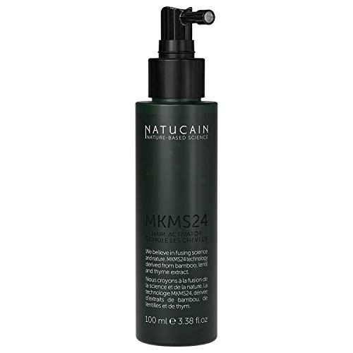 Natucain Haarwachstum Serum - 100{40584593797531d8d9e2918ef4b75956ef79dcc0e94cdb28d6b70d4b03c4b82d} natürlich gegen Haarausfall Frauen und Männer / 100ml Haarwuchsmittel hält bis 3 Monate - stimuliert Haar an der Wurzel