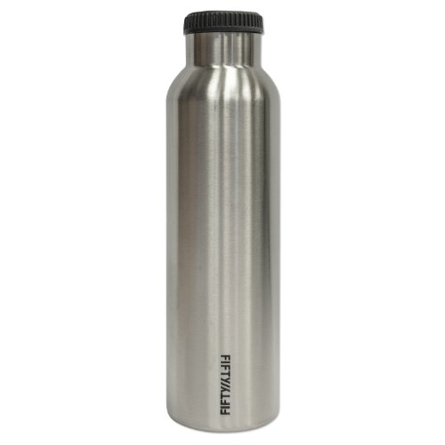 64 oz Seven Wine Growler fifty fifty water bottle