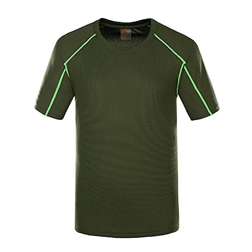 MDW WYR - Camiseta deportiva de secado rápido para mujer, manga corta, transpirable, secado rápido, fitness, G-4XL