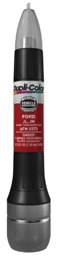 Price comparison product image Dupli-Color AFM0373 Dark Toreador Red Ford Exact-Match Scratch Fix All-in-1 Touch-Up Paint - 0.5 oz (0.25 oz. paint color and 0.25 oz. of clear)