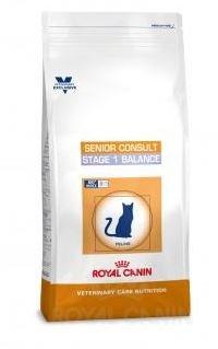 ROYAL CANIN Vet Care Senior Consult Stage 1 Balance Nourriture pour Chat 1,5 kg