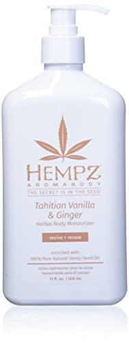 Hempz Hempz tahitian vanilla and ginger herbal body moisturizer, 17 oz, 17 ounces
