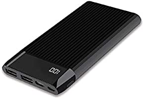 Dexim Sy15 Led Ekranlı Hızlı 10.000Mah Powerbank, Siyah