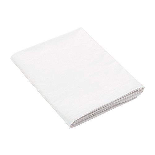Jalla Drap Plat, Coton, Blanc, 270x310 cm