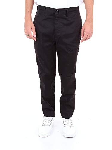 Mauro Grifoni Luxury Fashion Herren GE14001115BLACK Schwarz Elastan Hose | Jahreszeit Outlet