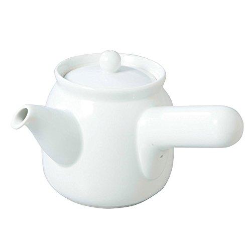 [Muji] Japanische Teekanne für grünen Tee, 360 ml, weißes Porzellan aus Japan