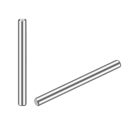 DyniLao 3 x 40 mm (Aproximadamente 1/8') Pasador de espiga 304 Estantes de soporte de clavijas de acero inoxidable 20 piezas