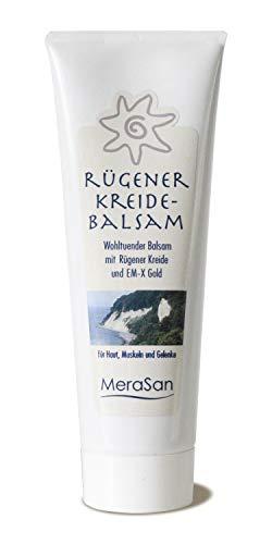 MeraSan Rügener Kreidebalsam - Das Original - parfümfrei, wohltuender Balsam mit Rügener Heilkreide für Haut, Muskeln und Gelenke - 80 ml Tube