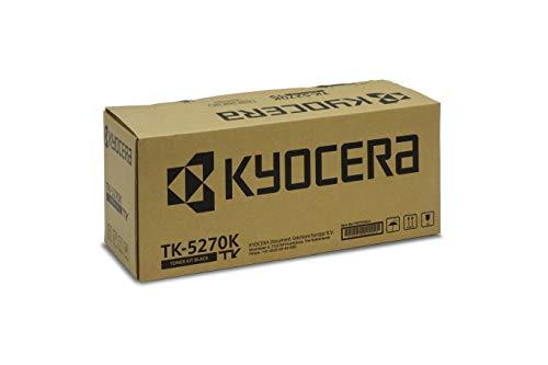 Kyocera TK-5270K Schwarz. Original Toner-Kartusche KYOTK5270K. Kompatibel für P6230cdn, M6230cidn und M6630cidn