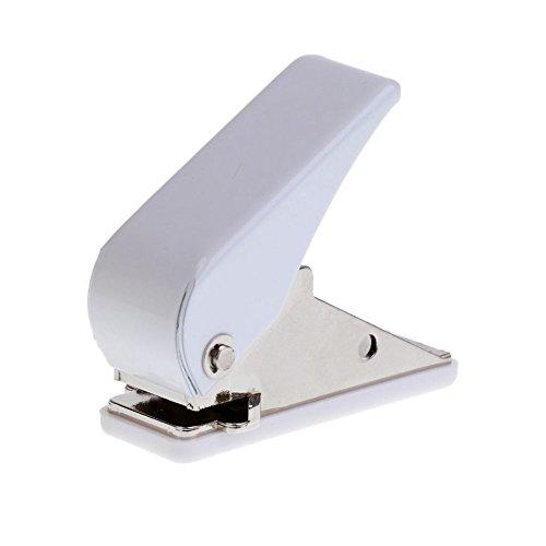 SODIAL Darts Flight Punch - Locher - (Flights zu lochen Um Dann Einen Federring Einzusetzen) Dartflights Lochen Maschine