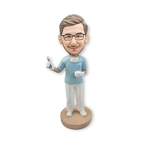 7.8' Custom Bobblehead, Personalized Doctor Bobble Head, Doctor 3D Figurine Maker Sculpture Dolls...