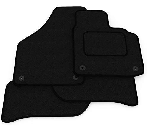 (L4:CT65) 4 Piece Audi (2003-2012) A3 Vehicle Specific Car Mat Set Black...