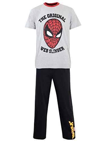 Spiderman Herren Marvel Spider-Man Schlafanzug Mehrfarbig Small