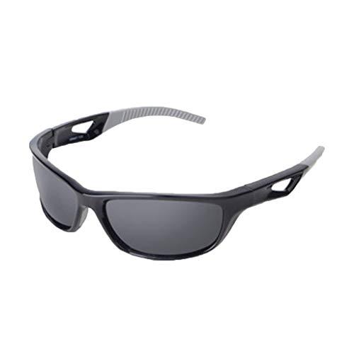 HCFKJ Gafas De Sol Deportivas Polarizadas Para Hombres Y Mujeres De Gama Alta Gafas De Sol Para Montar Al Aire Libre