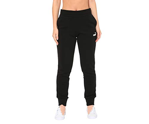 PUMA ESS Sweat TR cl Pants, Mujer, Negro (Cotton Black), XL